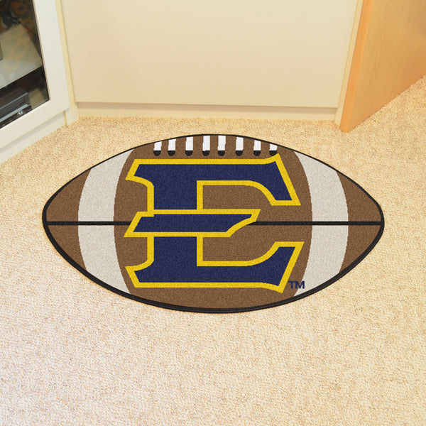 East Tennessee State Univ Football Mat 27 diameter - FANMATS - Dropship Direct Wholesale