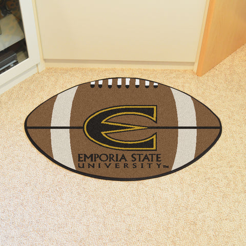 Emporia State Football Rug 20.5x32.5 - FANMATS - Dropship Direct Wholesale