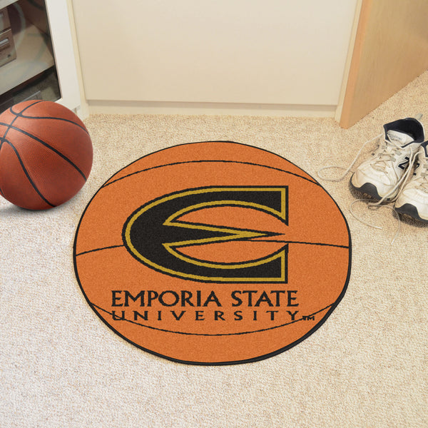 Emporia State Basketball Mat 27 diameter - FANMATS - Dropship Direct Wholesale
