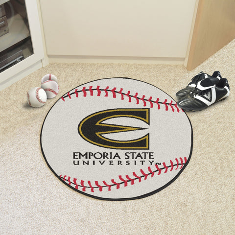 Emporia State Baseball Mat 27 diameter - FANMATS - Dropship Direct Wholesale