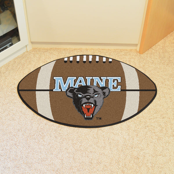 University of Maine Football Rug 20.5x32.5 - FANMATS - Dropship Direct Wholesale