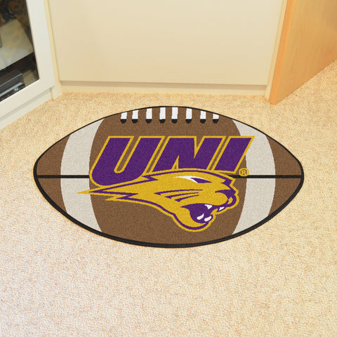 University of Northern Iowa Football Rug 20.5x32.5 - FANMATS - Dropship Direct Wholesale