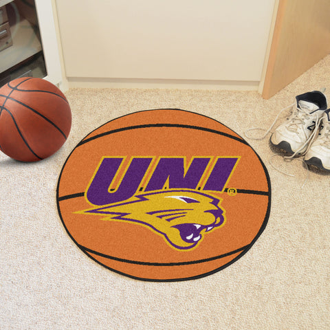 University of Northern Iowa Basketball Mat 27 diameter - FANMATS - Dropship Direct Wholesale