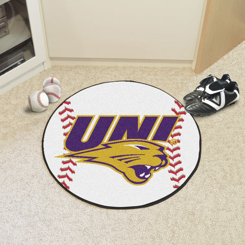 University of Northern Iowa Baseball Mat 27 diameter - FANMATS - Dropship Direct Wholesale