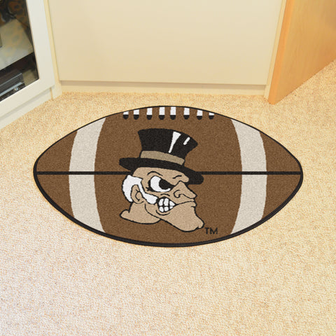 Wake Forest Football Rug 20.5x32.5 - FANMATS - Dropship Direct Wholesale