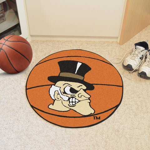 Wake Forest Basketball Mat 27 diameter - FANMATS - Dropship Direct Wholesale