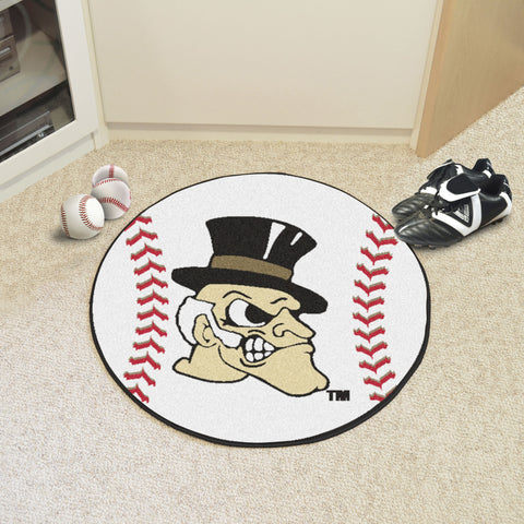 Wake Forest Baseball Mat 27 diameter - FANMATS - Dropship Direct Wholesale