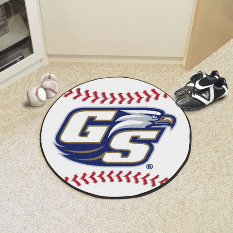 Georgia Southern University Baseball Mat 27 diameter - FANMATS - Dropship Direct Wholesale
