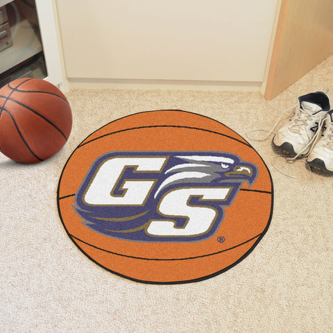 Georgia Southern University Basketball Mat 27 diameter - FANMATS - Dropship Direct Wholesale