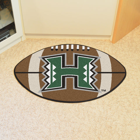 University of Hawaii Football Rug 20.5x32.5 - FANMATS - Dropship Direct Wholesale