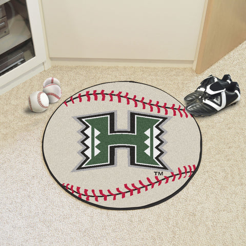 University of Hawaii Baseball Mat 27 diameter - FANMATS - Dropship Direct Wholesale