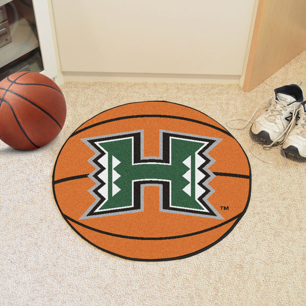 University of Hawaii Basketball Mat 27 diameter - FANMATS - Dropship Direct Wholesale
