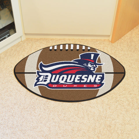 Duquesne University Football Rug 20.5x32.5 - FANMATS - Dropship Direct Wholesale