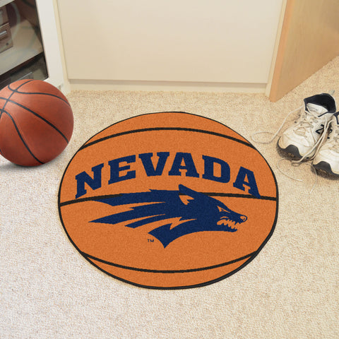University of Nevada Basketball Mat 27 diameter - FANMATS - Dropship Direct Wholesale