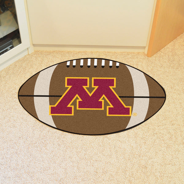 University of Minnesota Football Rug 20.5x32.5