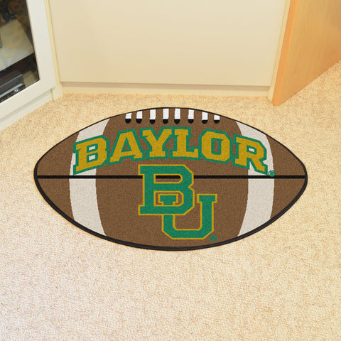 Baylor University Football Rug 20.5x32.5 - FANMATS - Dropship Direct Wholesale
