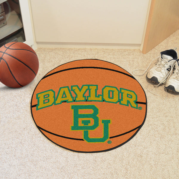 Baylor University Basketball Mat 27 diameter - FANMATS - Dropship Direct Wholesale