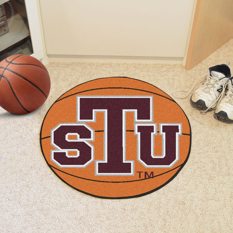 Texas Southern University Basketball Mat 27 diameter - FANMATS - Dropship Direct Wholesale