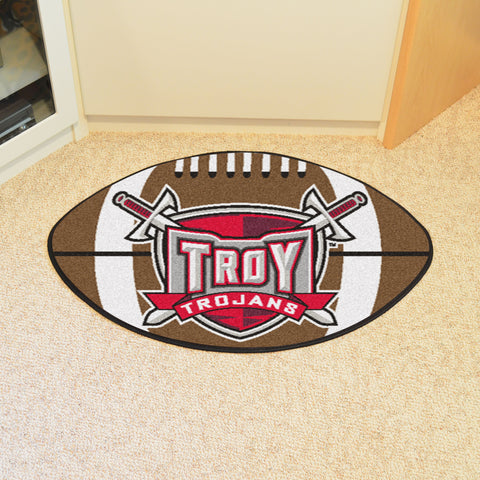 Troy University Football Rug 20.5x32.5 - FANMATS - Dropship Direct Wholesale