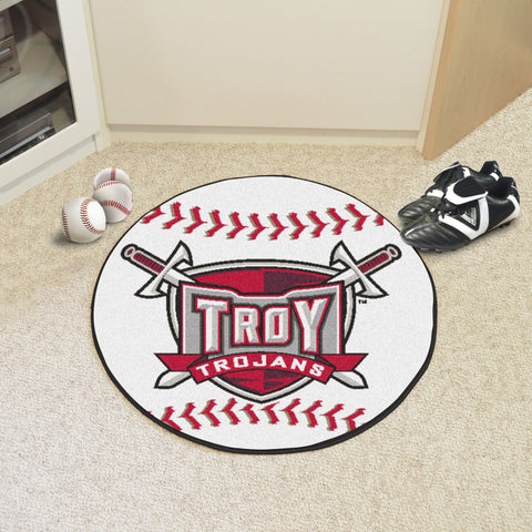 Troy University Baseball Mat 27 diameter - FANMATS - Dropship Direct Wholesale