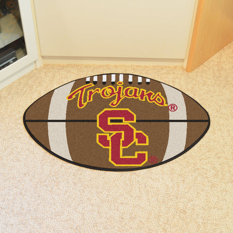 University of Southern California Football Rug 20.5x32.5 - FANMATS - Dropship Direct Wholesale