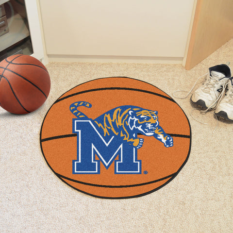 University of Memphis Basketball Mat 27 diameter - FANMATS - Dropship Direct Wholesale