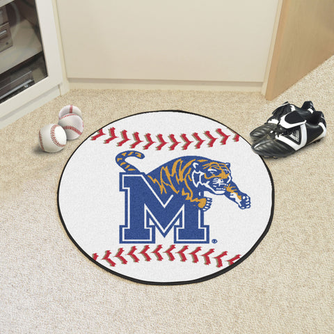 University of Memphis Baseball Mat 27 diameter - FANMATS - Dropship Direct Wholesale
