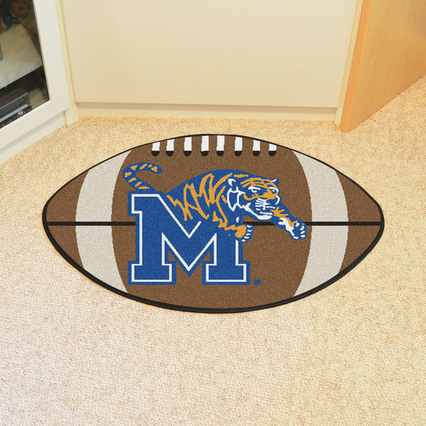 University of Memphis Football Rug 20.5x32.5 - FANMATS - Dropship Direct Wholesale
