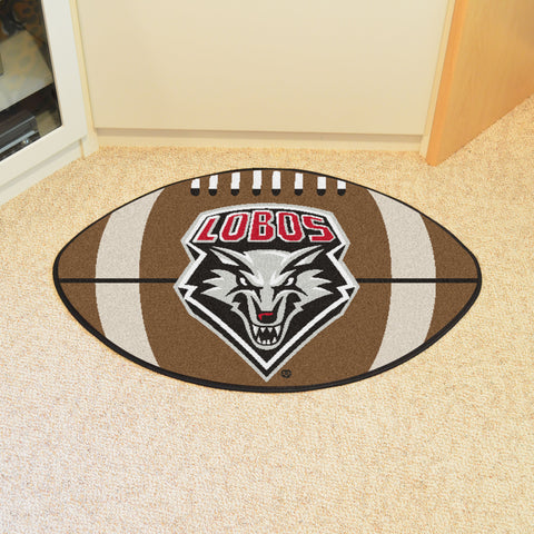 University of New Mexico Football Rug 20.5x32.5 - FANMATS - Dropship Direct Wholesale