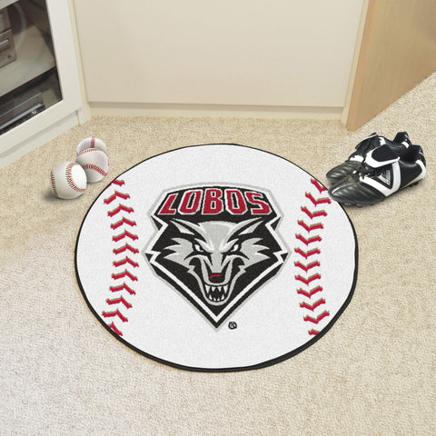 University of New Mexico Baseball Mat 27 diameter - FANMATS - Dropship Direct Wholesale