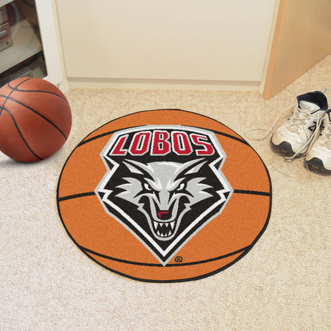 University of New Mexico Basketball Mat 27 diameter - FANMATS - Dropship Direct Wholesale