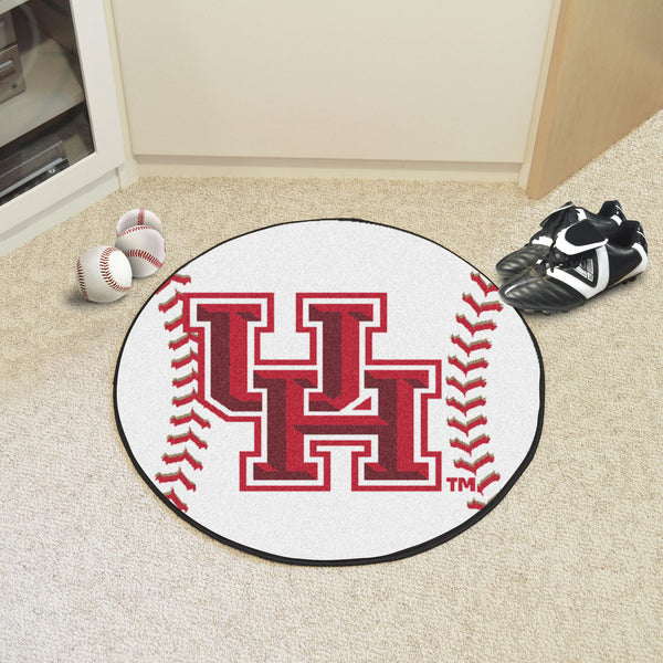 University of Houston Baseball Mat 27 diameter - FANMATS - Dropship Direct Wholesale