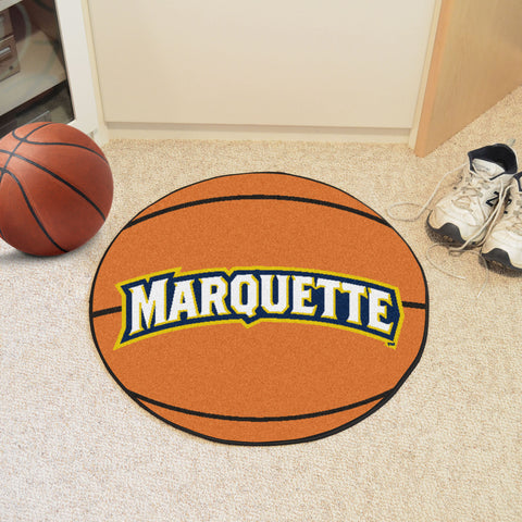 Marquette University Basketball Mat 27 diameter - FANMATS - Dropship Direct Wholesale