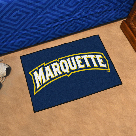 Marquette University Starter Rug 20x30 - FANMATS - Dropship Direct Wholesale