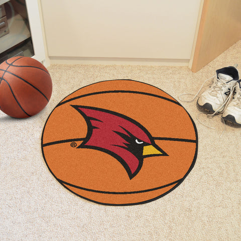 Saginaw Valley State Basketball Mat 27 diameter - FANMATS - Dropship Direct Wholesale