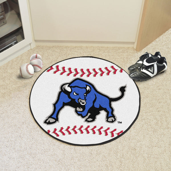 State University at Buffalo Baseball Mat 27 diameter - FANMATS - Dropship Direct Wholesale