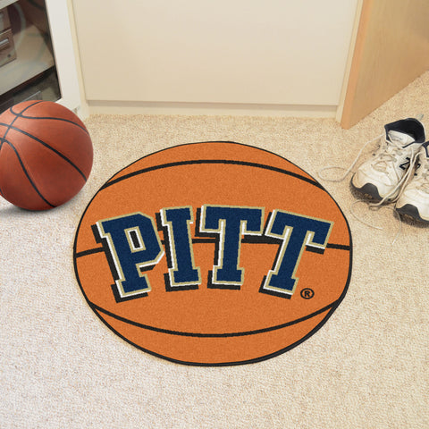 University of Pittsburgh Basketball Mat 27 diameter - FANMATS - Dropship Direct Wholesale