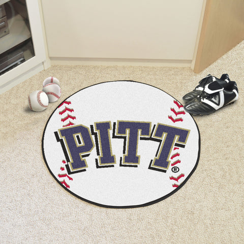 University of Pittsburgh Baseball Mat 27 diameter - FANMATS - Dropship Direct Wholesale