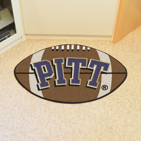 University of Pittsburgh Football Rug 20.5x32.5 - FANMATS - Dropship Direct Wholesale