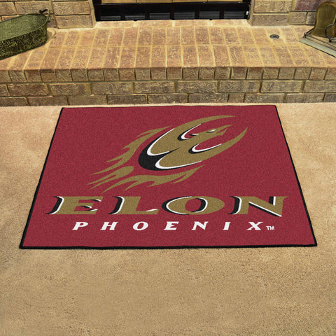 Elon University Starter Mat - FANMATS - Dropship Direct Wholesale