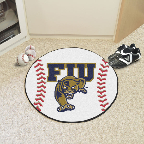 Florida International University Baseball Mat 27 diameter 29 diameter - FANMATS - Dropship Direct Wholesale