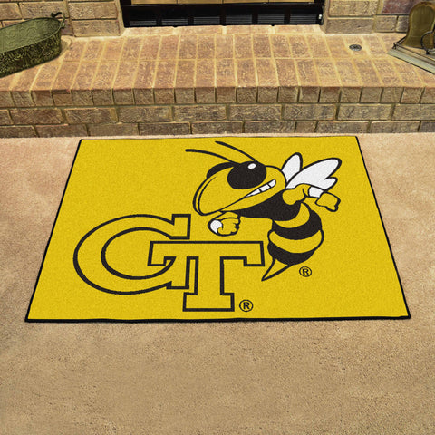 Georgia Tech All-Star Mat 33.75x42.5 - FANMATS - Dropship Direct Wholesale