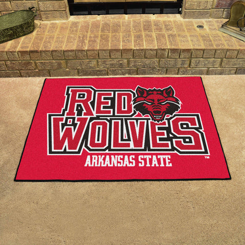 "Arkansas State All-Star Mat 33.75""x42.5"" - FANMATS - Dropship Direct Wholesale"