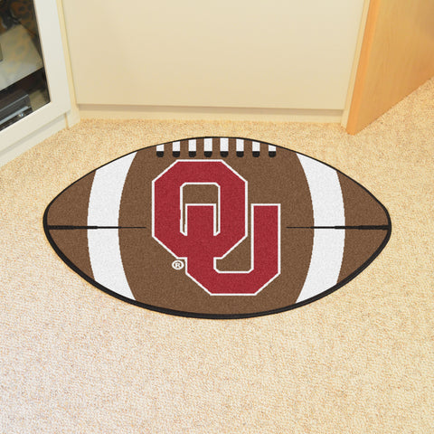 University of Oklahoma Football Rug 20.5x32.5 - FANMATS - Dropship Direct Wholesale