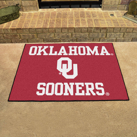 University of Oklahoma All-Star Mat 33.75x42.5 - FANMATS - Dropship Direct Wholesale