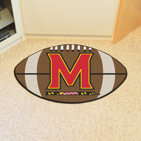 University of Maryland Football Rug 20.5x32.5 - FANMATS - Dropship Direct Wholesale