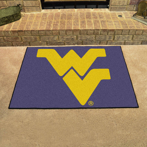 West Virginia University All-Star Mat 33.75x42.5 - FANMATS - Dropship Direct Wholesale