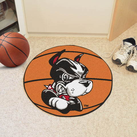Boston University Basketball Mat 27 diameter - FANMATS - Dropship Direct Wholesale