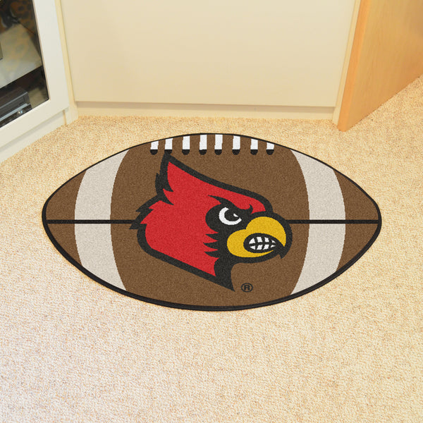 University of Louisville Football Rug 20.5x32.5 - FANMATS - Dropship Direct Wholesale