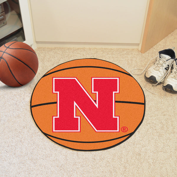 University of Nebraska Basketball Mat 27 diameter - FANMATS - Dropship Direct Wholesale